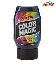Turtle Wax Color Magic BLACK Car Auto Polish & Wax 300ml