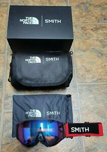 Smith I/O MAG S North Face Goggles w/Chromapop Storm Rose Lens