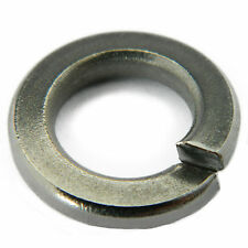 "Stainless Steel Split Lock Washers Spring Medium 3/8"" Qty 10"