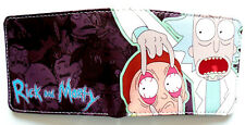Rick and Morty Mad Scientist Cartoon wallet purse Choose from 4 styles