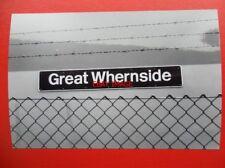 PHOTO  NAMEPLATE - GREAT WHERNSIDE CLASS 60 LOCO NO 60020 V2