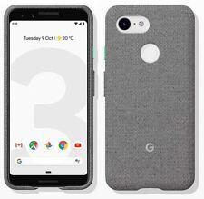 Genuine Official Google Pixel 3 Fabric Case Cover GA00490 - Fog
