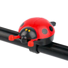 Ladybird Bug Cycling Decor Kids Bike Bicycle Bell Open Wings for 22mm Handlebars