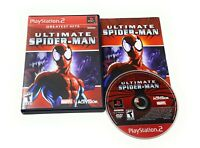 ULTIMATE SPIDER-MAN (SONY PLAYSTATION 2, 2005 PS2) COMPLETE Tested CIB