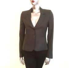 Joseph Women's Pinstriped Blazer Jacket 100% Virgin Wool Business Italy UK 10