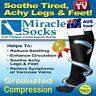 Compression Socks, Relief for Aching Feet, Varicose Veins, DVT  & Flight Travel