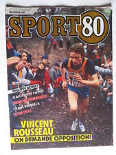 Sport 80 n°3 – 15 janvier 1986 – Philippe Desmet, Jean Pierre Papin, Erwin Vand