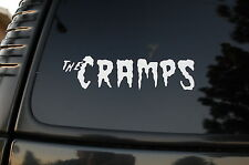 The Cramps Vinyl Sticker Decal (V40) Choose Color!! Rock  Rockabilly Mad Sin Car