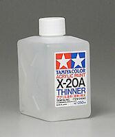 Tamiya THINNER Acrylic Hobby Model Paint Acrylic X20A Thinner 250ml 81040