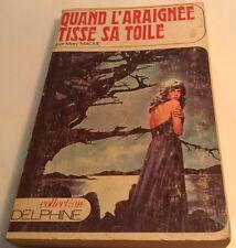 Book in French QUAND L'ARAIGNÉE TISSE SA TOILE  Livre en Francais COL. DELPHINE