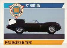 1955 Juguar D-Type, Le Mans, Dream Cars Trading Card, Automobile -- Not Postcard