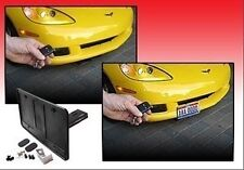 AUTOMATIC POWERED Retractable License Plate Frame Fits Most Cars - UNIVERSAL!
