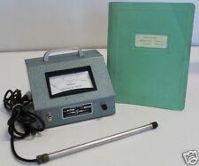 Hastings / Teledyne AM-32 Air Meter 100 - 1000 ft per min. + User Manual & Probe