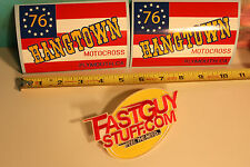 Vintage Motocross Hangtown '76 sticker YZ CR RM TM CZ KX 125 250 400 500 Works