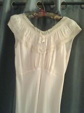 Vintage Kenjoy Lingerie Powder Pink Nighty, Small