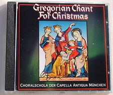 GREGORIAN CHANT FOR CHRISTMAS . KONRAD RUHLAND . CD