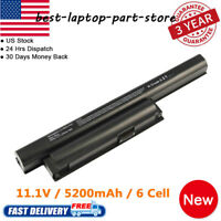 New Laptop Battery For Sony Vaio VGP-BPS22 VGP-BPS22A VPC-EA22EA/BI VPC-EA23 US
