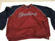 NBA Cleveland Cavaliers Basketball Men's Pull Over V-Neck Warm Up Jacket Size 3X