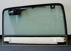 Jeep Wrangler YJ Hard Top Liftgate Interior Housing Trim Cover