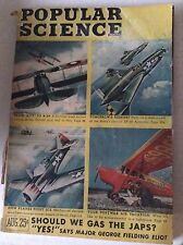 Popular Science Magazine From Rite To B29 August 1945 081917nonrh