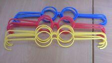 12 Plástico Gafas Marcos Fiesta favor favor Payaso Disfraz Accesssories