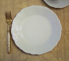 """Hutschenreuther Baronesse White Salad Plate(s) 8 3/8"""", new Rosenthal"""