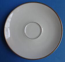 Untertasse Eschenbach Goldrand Elfenbein Teller klein Vintage Porzellan Bavaria