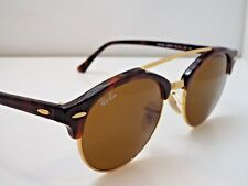 0ea58ed81c Authentic Ray-Ban RB 4346 990 33 Tortoise BrownClassic Clubround Sunglasses   205