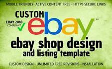 Create Amazing Ebay Store Template (Gold Package)