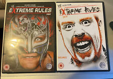 2x WWE Extreme Rules DVD's (Extreme Rules 2009 + Extreme Rules 2010)