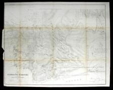 GLO Map of Washington Territory, ca 1860-61 Lot 150A