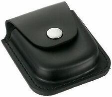 Charles-Hubert Paris 3572-4 Black Leather 48mm Pocket Watch Holder