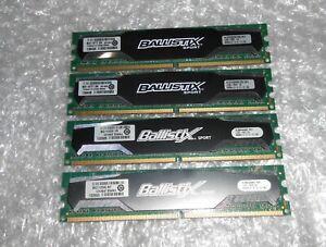 BALLISTIX SPORT 8GB (4 X 2GB) DDR2 PC2-6400 800Mhz KIT BLS2G2D80EBS1S00 CRUCIAL