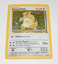 Pokemon Card Kangaskhan 5/64 HOLO RARE Jungle Set R6885