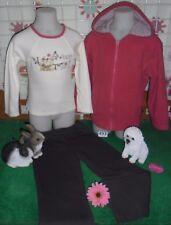 vêtements occasion fille 5 ans,gilet polaire,sweat SERGENT MAJOR,pantamlon sport