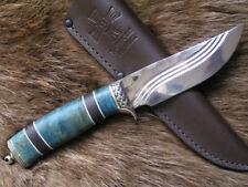 "Custom Elmax steel tactical hunter survival handmade knife ""Mockingbird"""