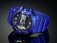 Casio G Shock * GBA400-2A G'MIX Music iOS Android Bluetooth Blue COD PayPal