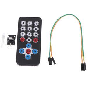 HX1838 Arduino Infrared IR Wireless Remote Control Sensor Module Kits_fd