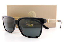 Brand New VERSACE Sunglasses VE 4307 GB1/87 BLACK/GRAY for Men