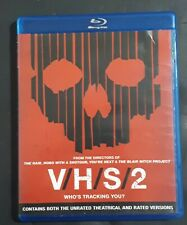V/H/S/2 Blu-Ray Disc 2013 Rare OOP Canadian Import Horror Gore Thriller