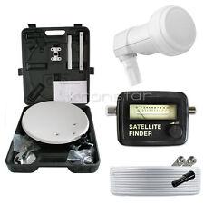 Digitale Camping SAT-Anlage MEGASAT LNB 0,1dB SMART Mobil Koffer Full HD HDTV 3D