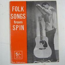 FOLK SONGS from SPIN, Beryl Davis, 1963