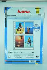 Hama Photohüllen weiß 9786