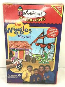 NIB Colorforms Stick Ons The Wiggles Play Set 44PC