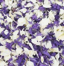 Lila Und Elfenbein Echt Blütenblätter Konfetti