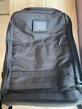 GORUCK GR1 - 21l - Black - 500d Curved Straps - Backpack - Made in USA