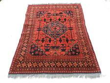 5x7ft. Handmade Afghan Kazak Wool Rug