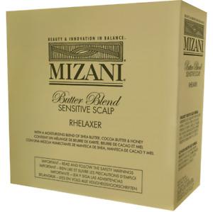 MIZANI Butter Blend Sensitive Scalp Rhelaxer 4 Applications KIT