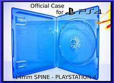 Playstation 4 ps4 Case 14 MM-NUEVO posee 1 discos []