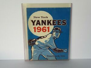 Vintage 1961 New York Yankees Yearbook (Nice Cond.)